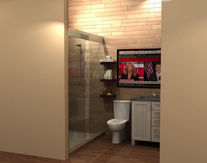 HARRY 1 bathroom