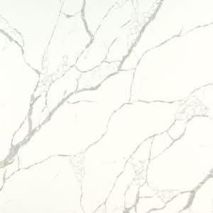 calacatta laza white quartz msi