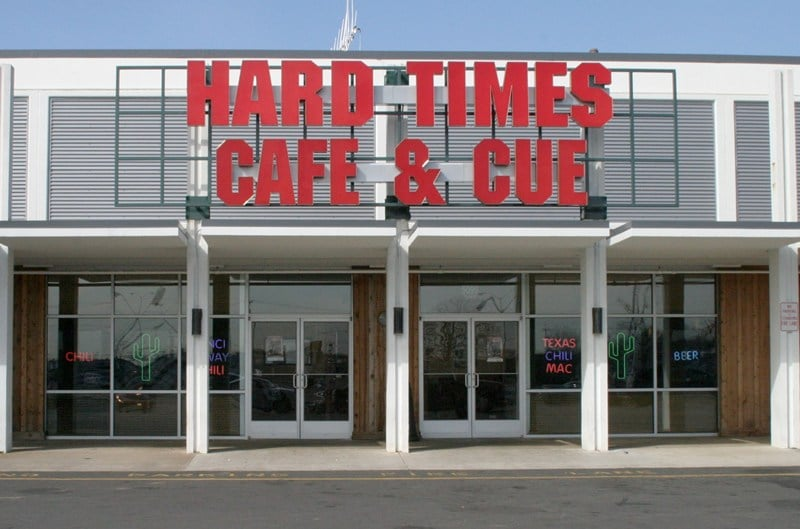 hard times cafe best budget bar Fredericksburg