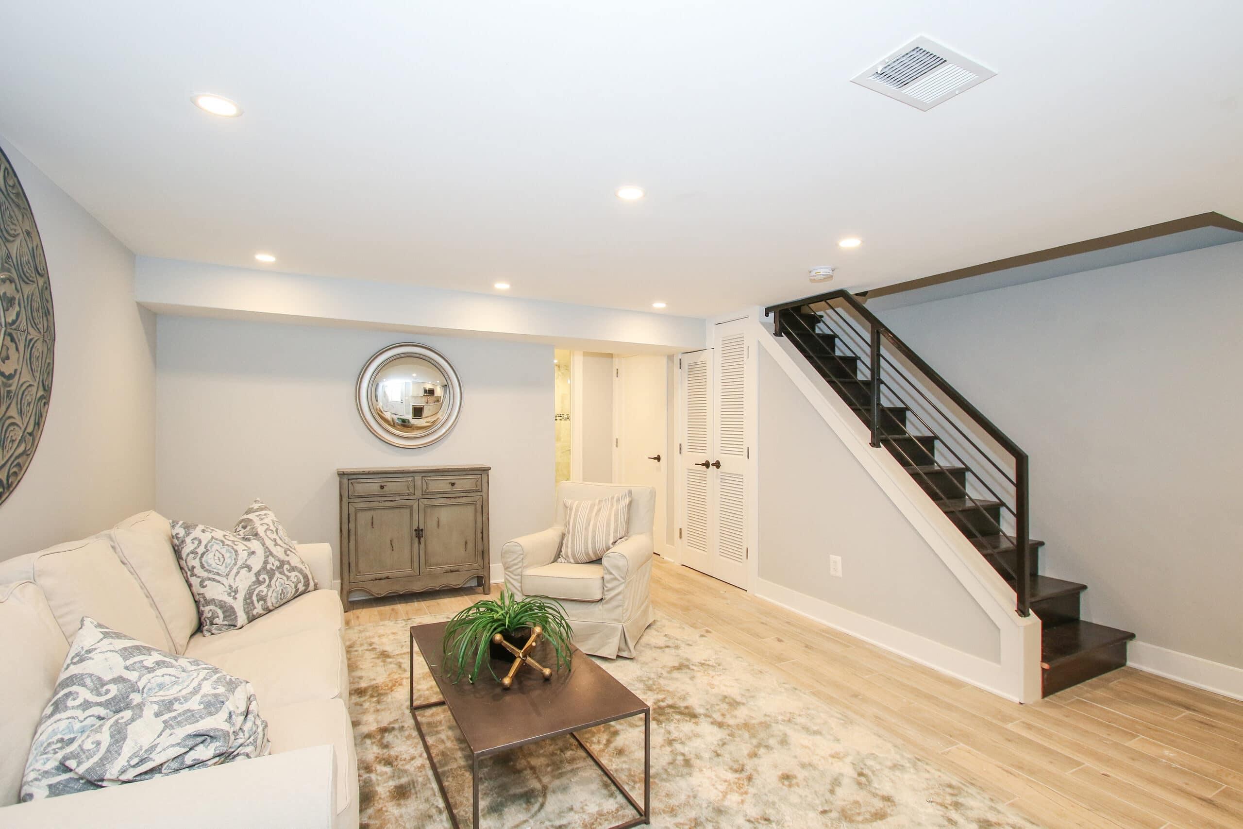 basement remodeling trends 2021