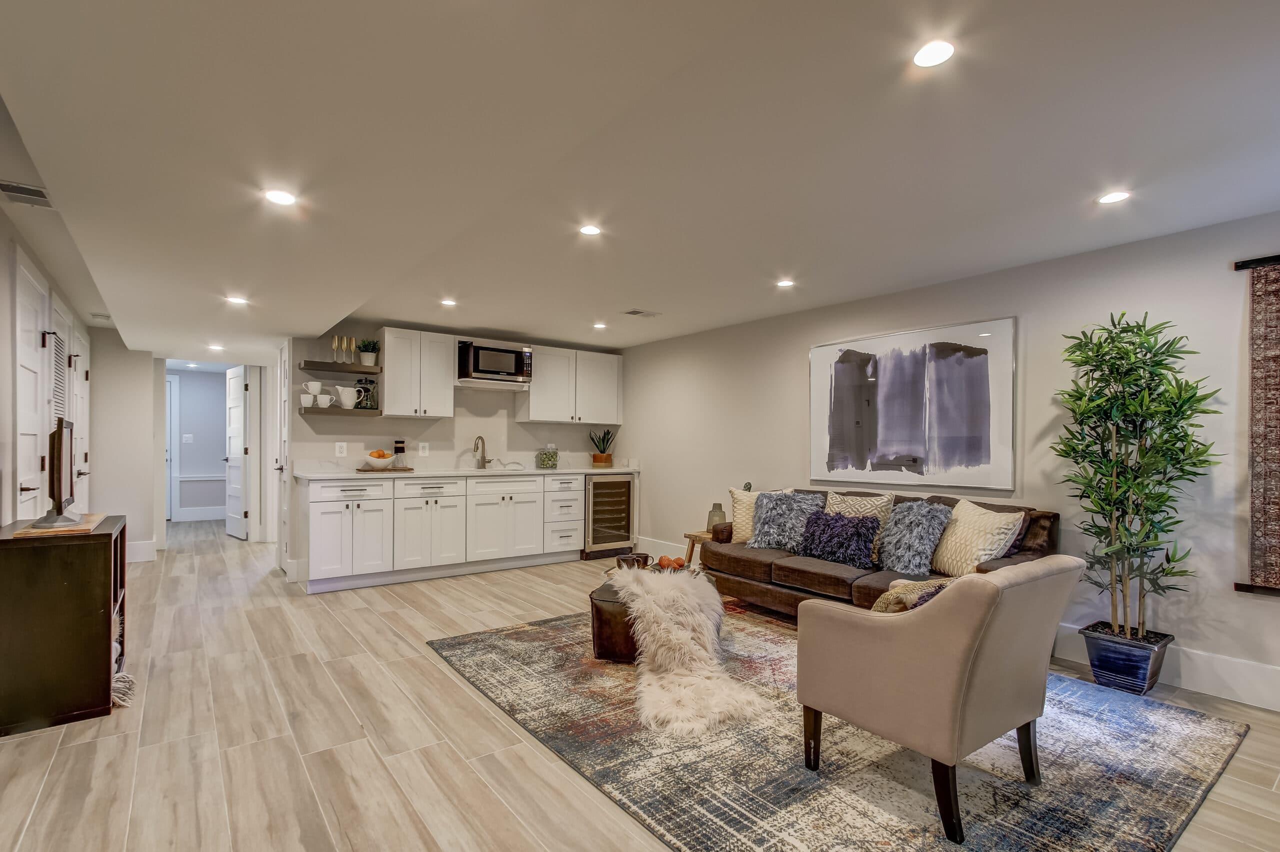 basement remodeling length
