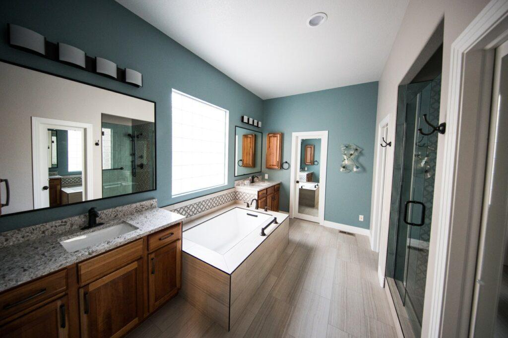 affordable bathroom updates flooring