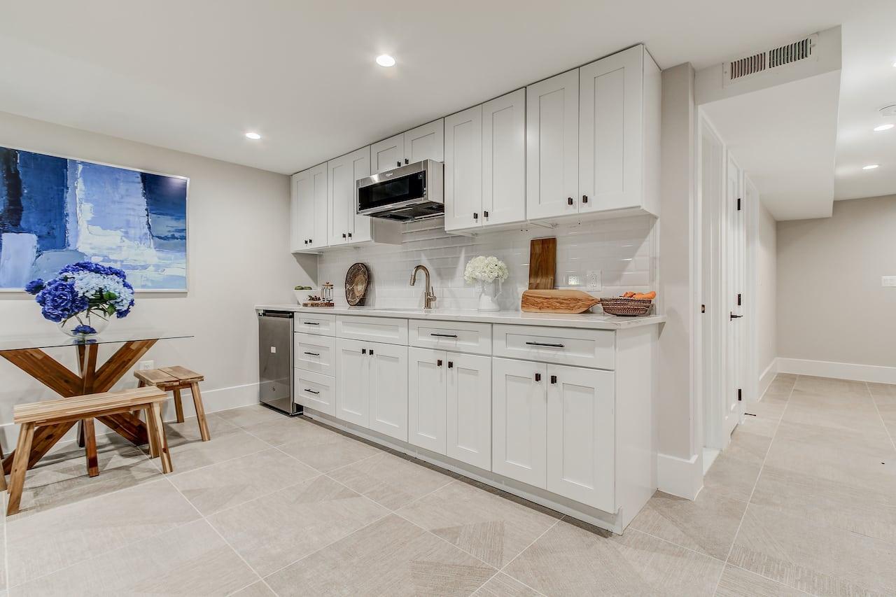 basement kitchen arlington