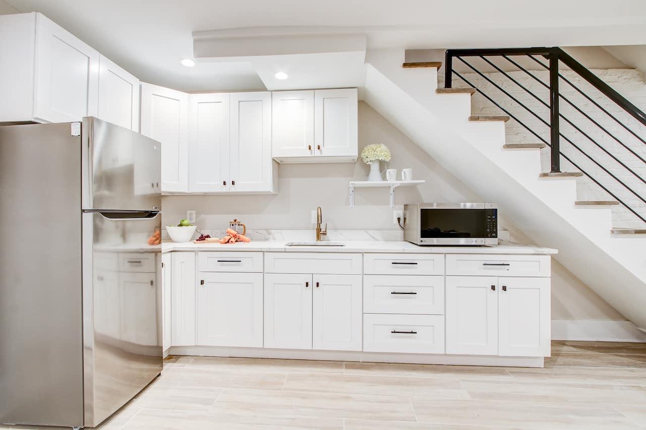 basement kitchen bethesda