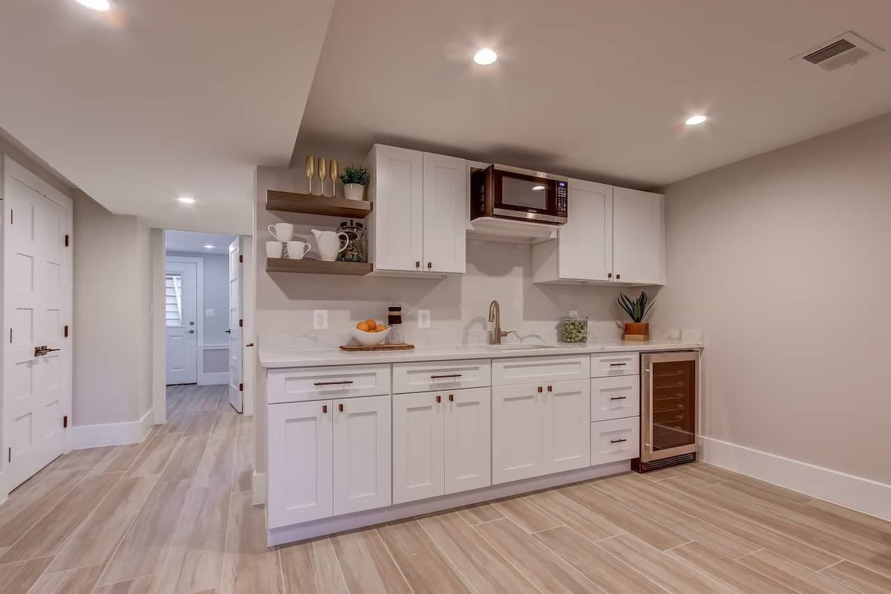 basement kitchen frederick