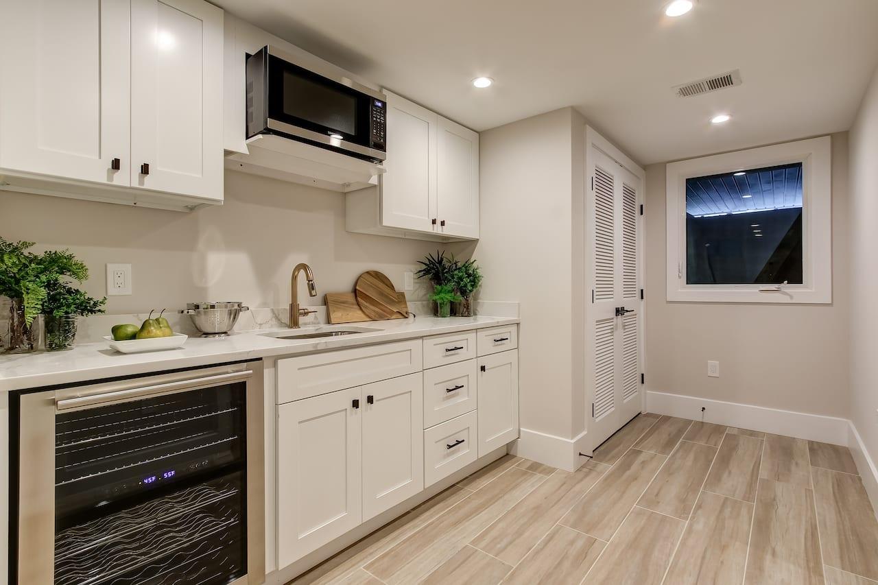 basement kitchen fredericksburg