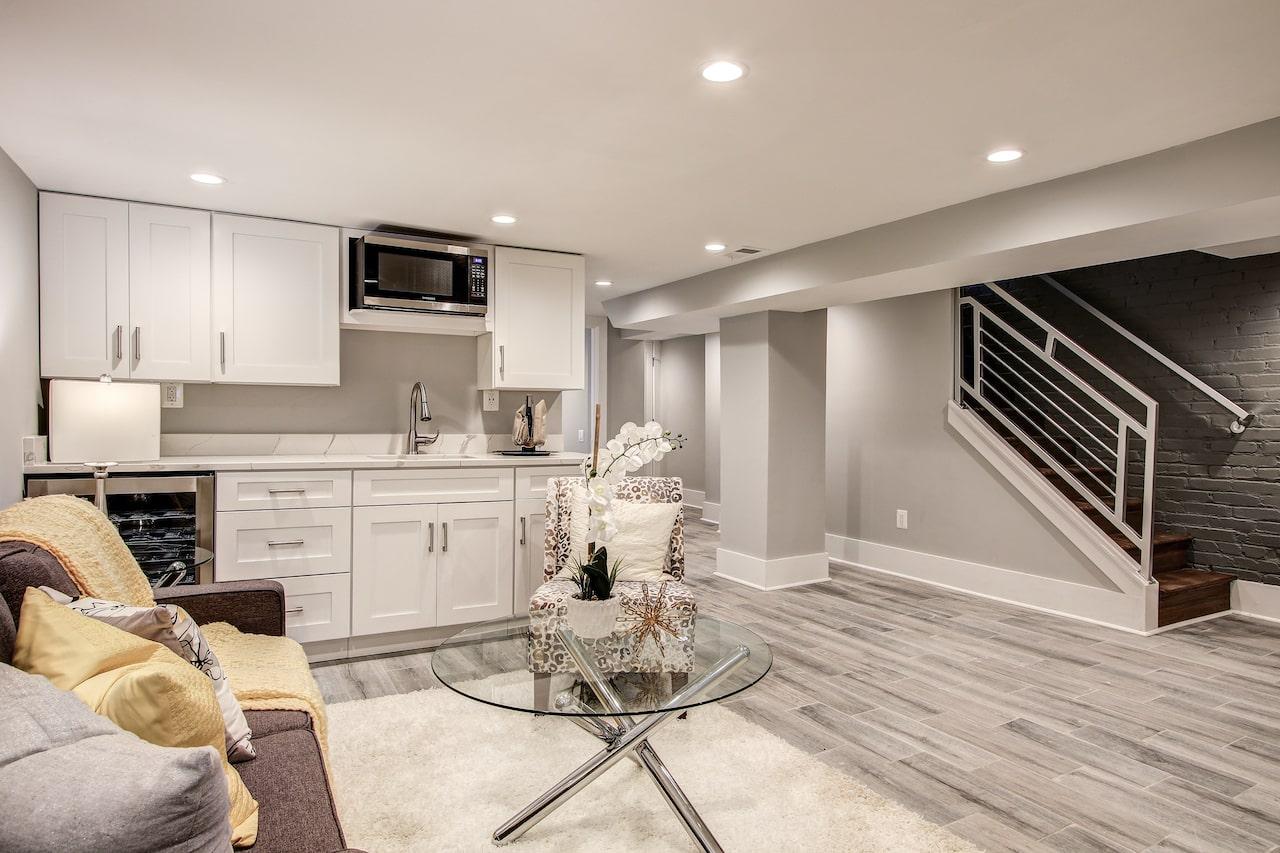 basement kitchen vienna