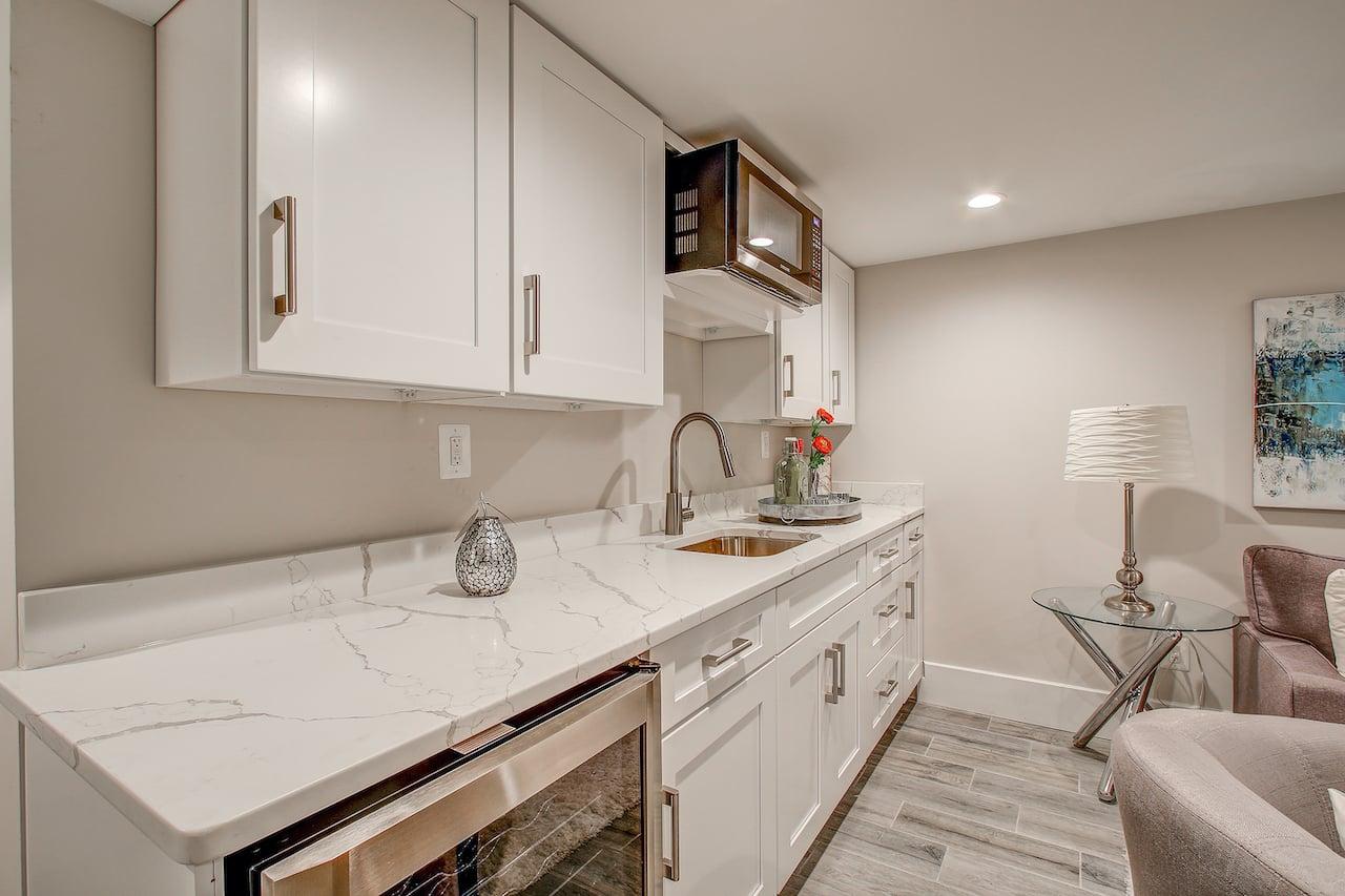 basement kitchen woodbridge