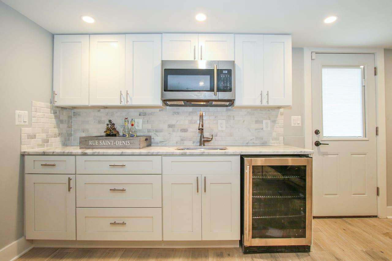 basement kitchenette baltimore