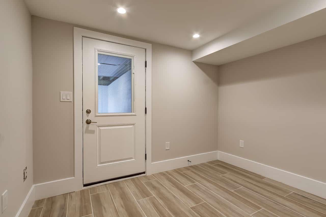 basement remodel 1