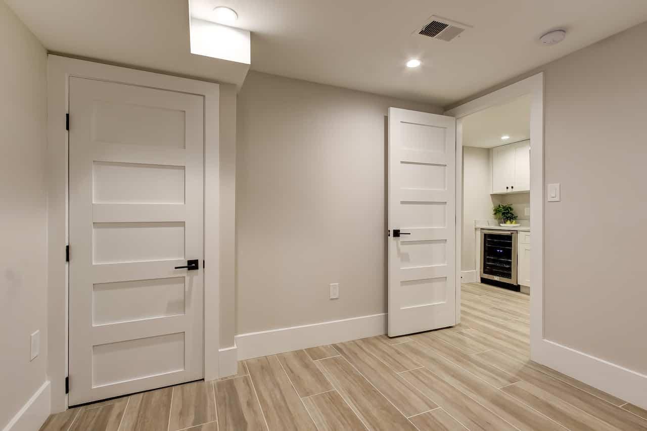 basement remodel 2