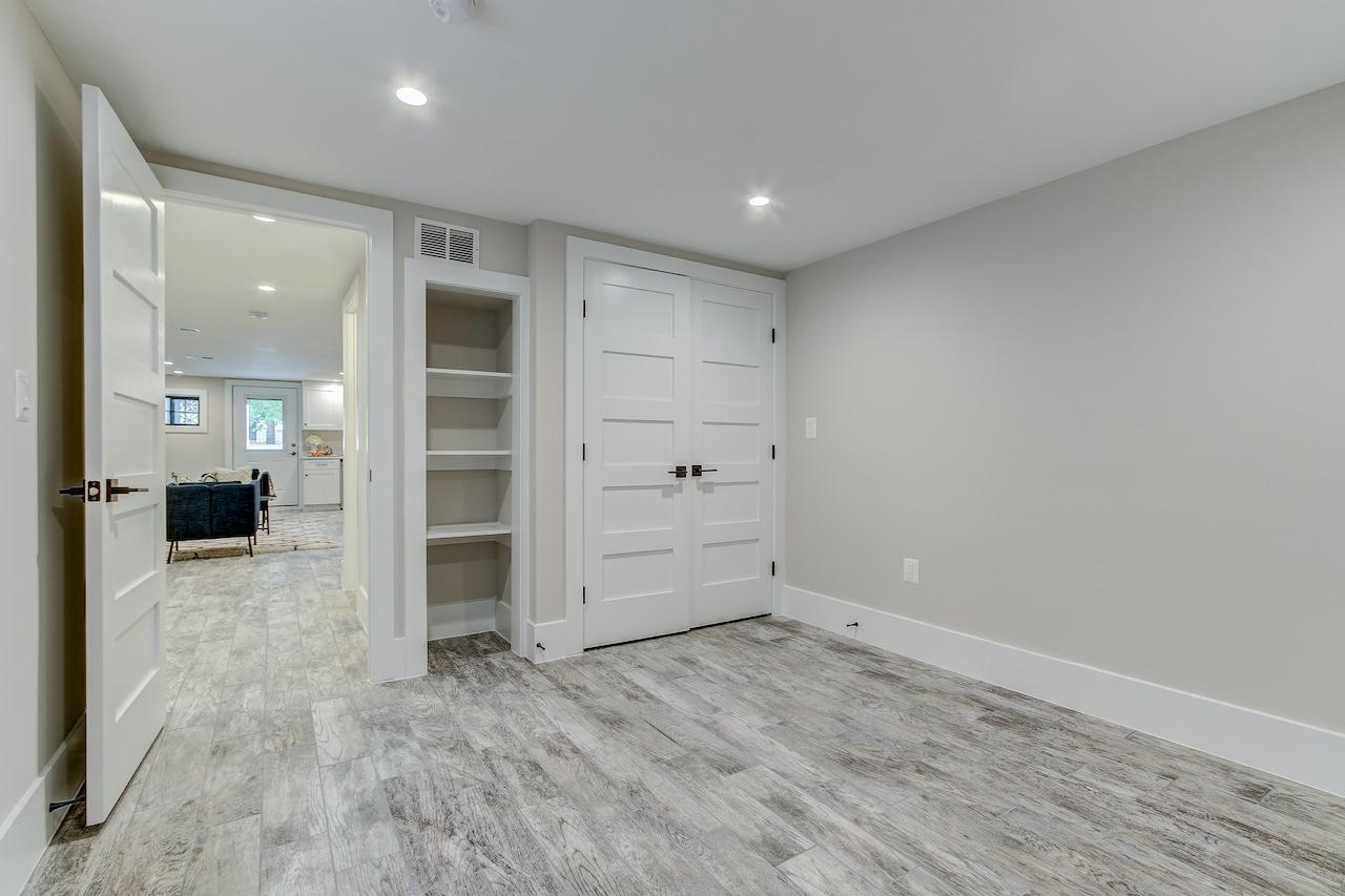 basement remodeling closets