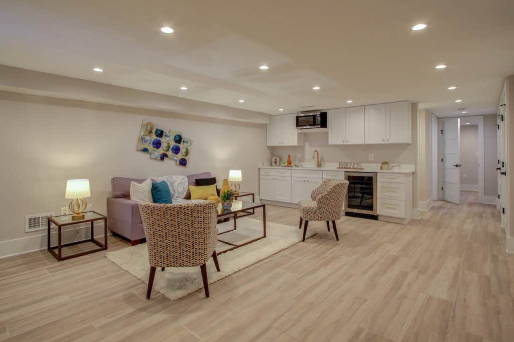 basement remodeling falls church