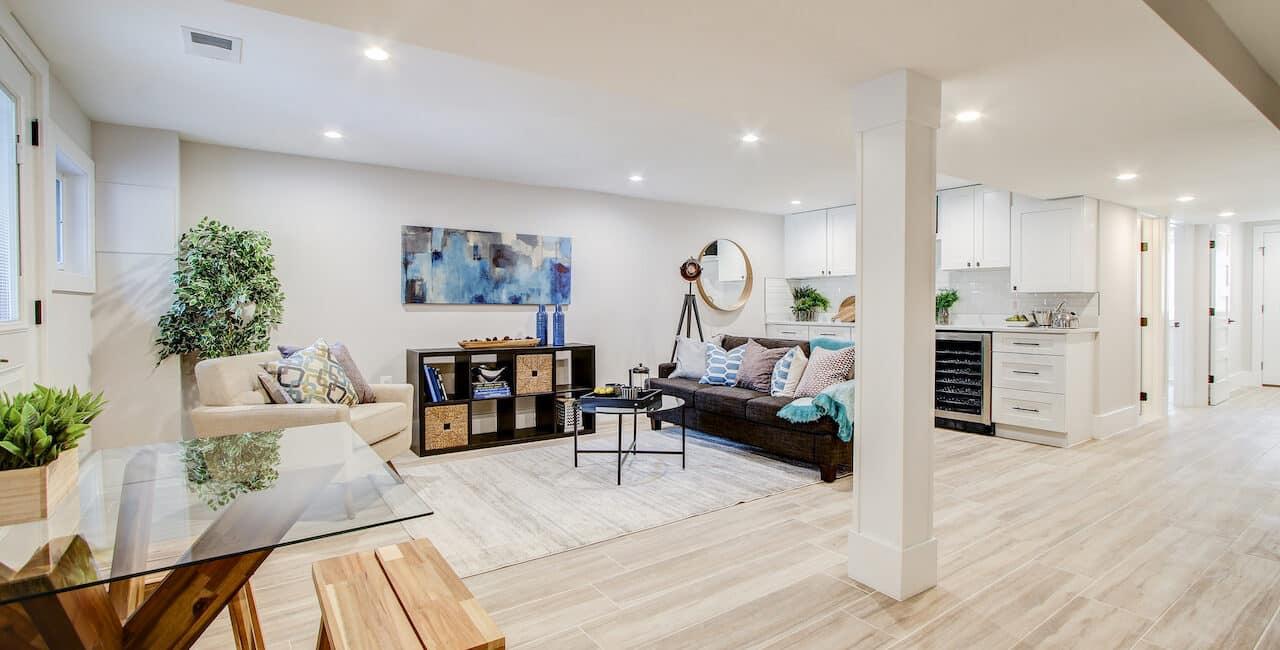 basement remodeling sterling