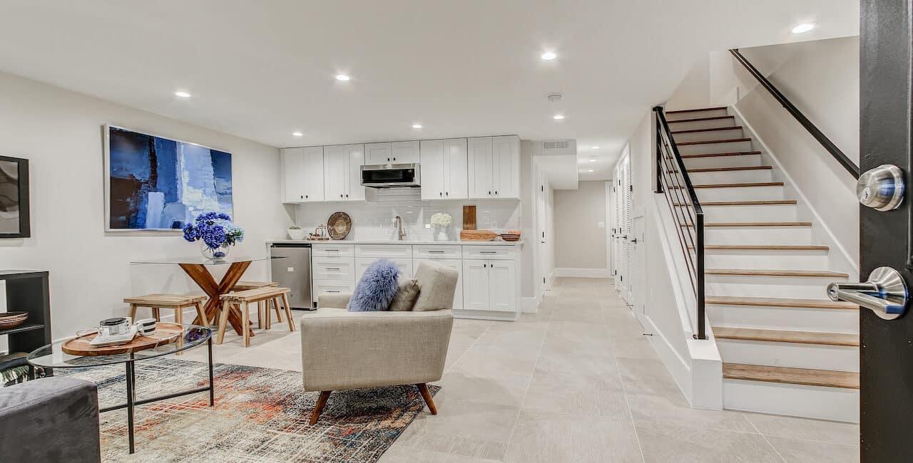 basement renovation arlington