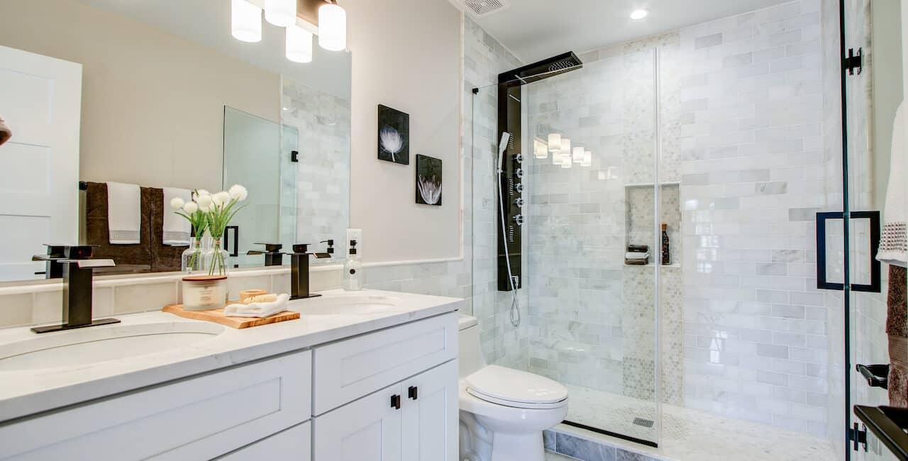 bathroom makeover sterling