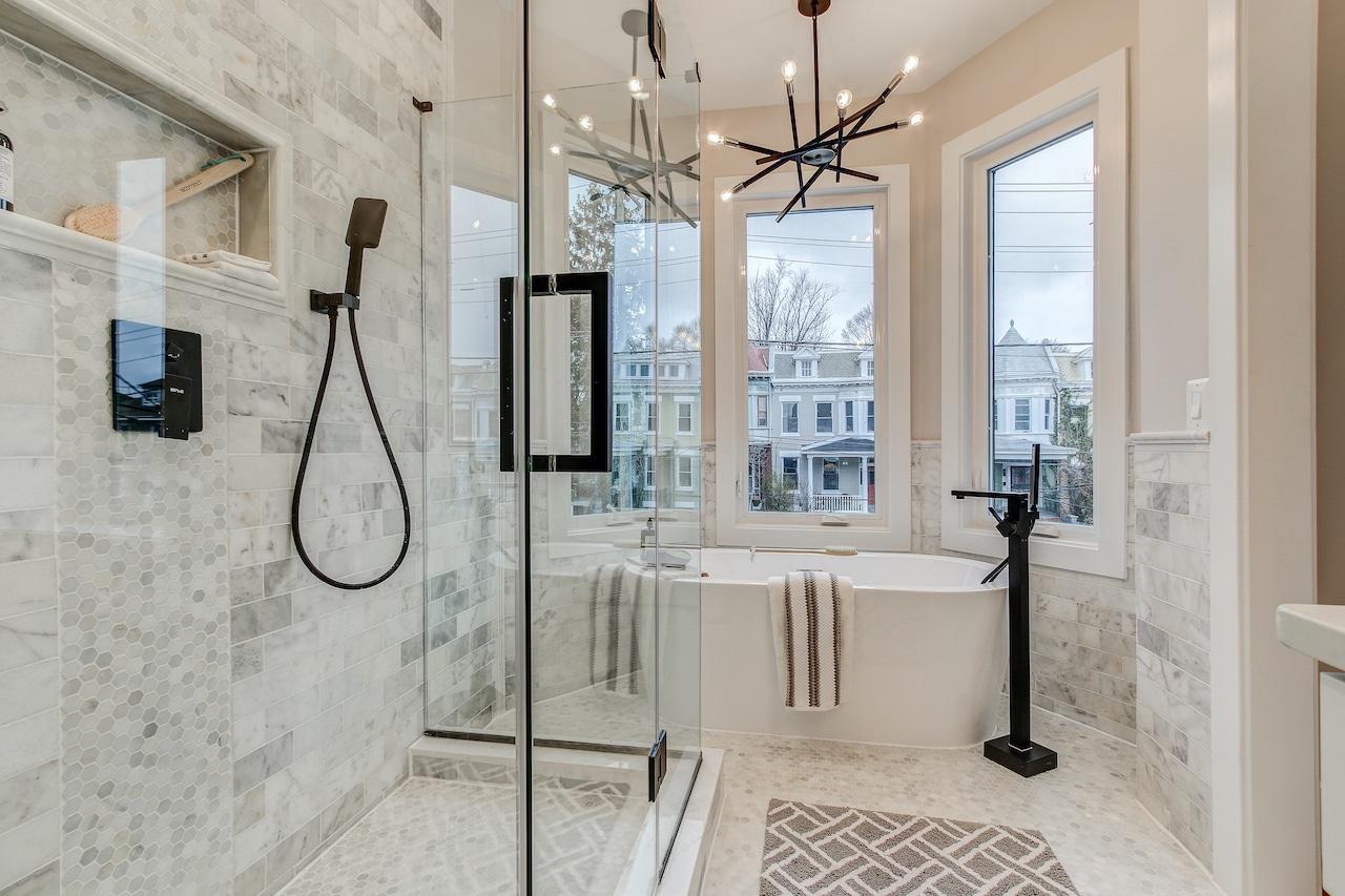 bathroom remodel arlington