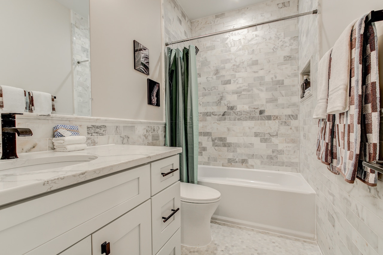 bathroom update arlington