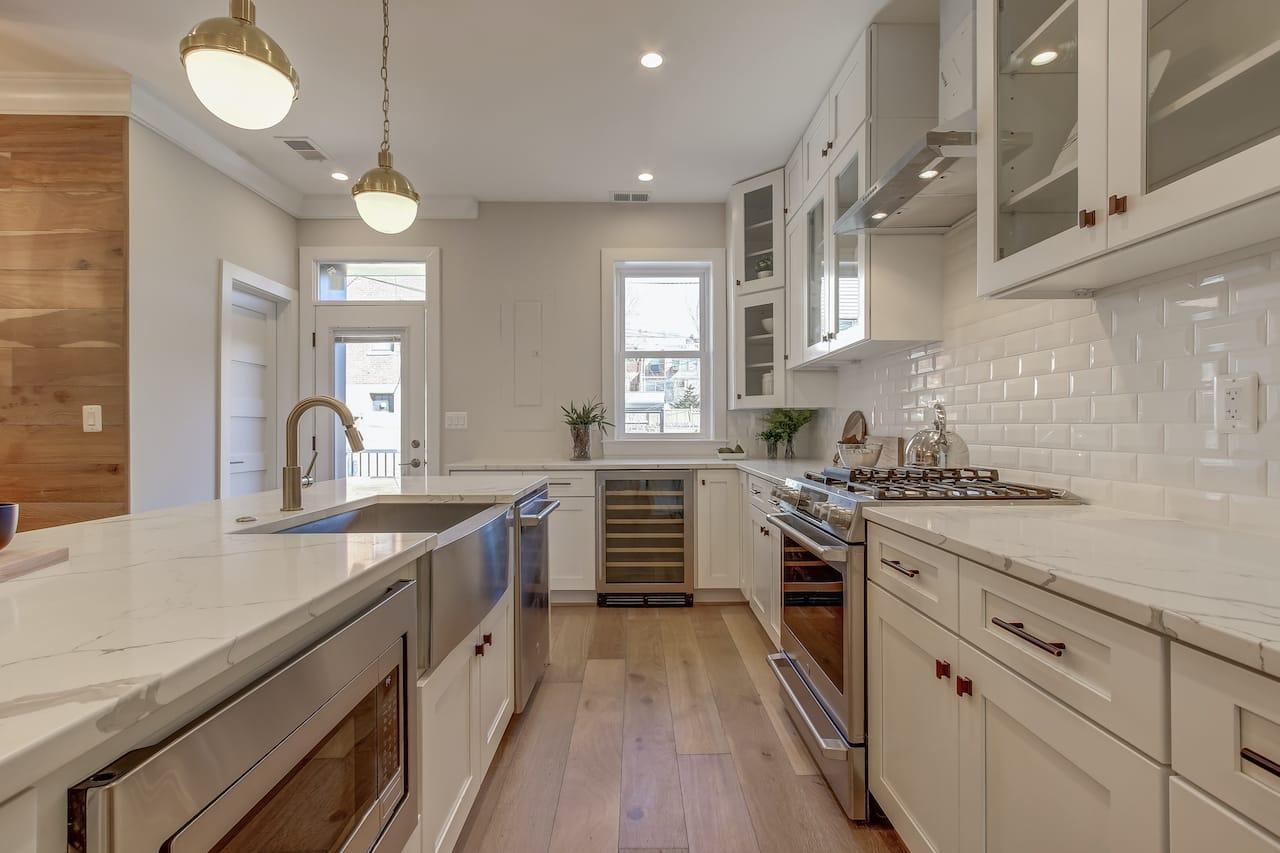 galley kitchen chantilly