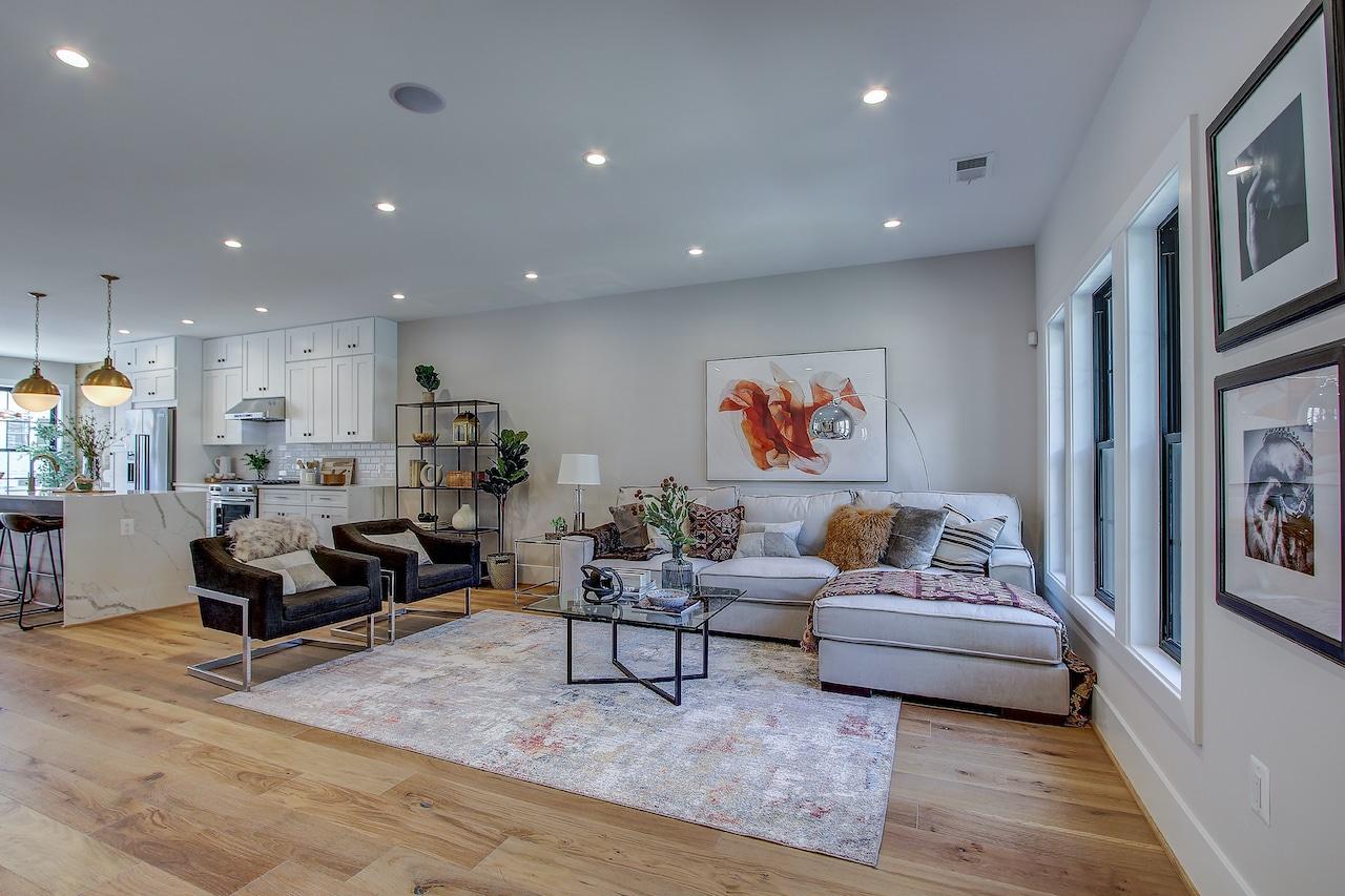 kitchen living room 2