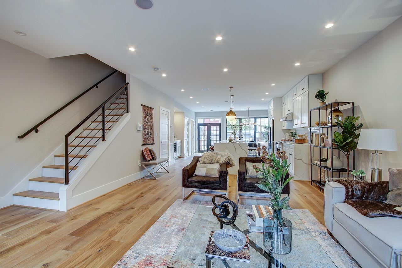 living room kitchen remodel