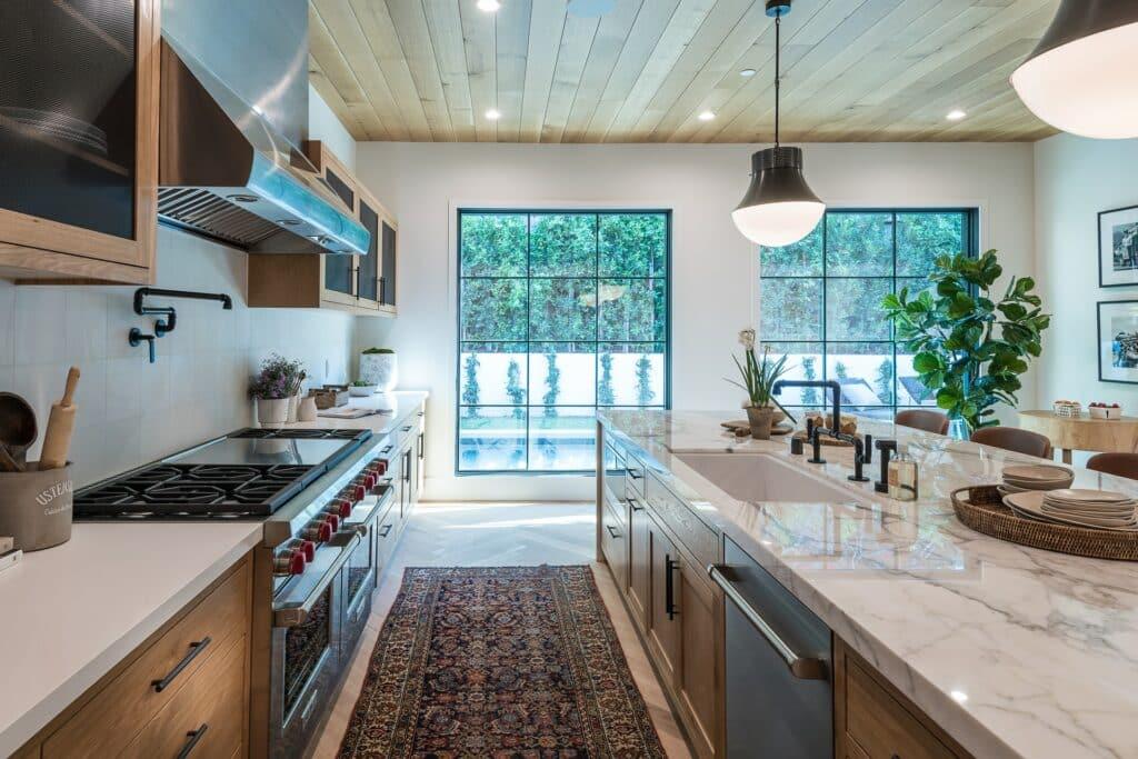 marble kitchen design trend