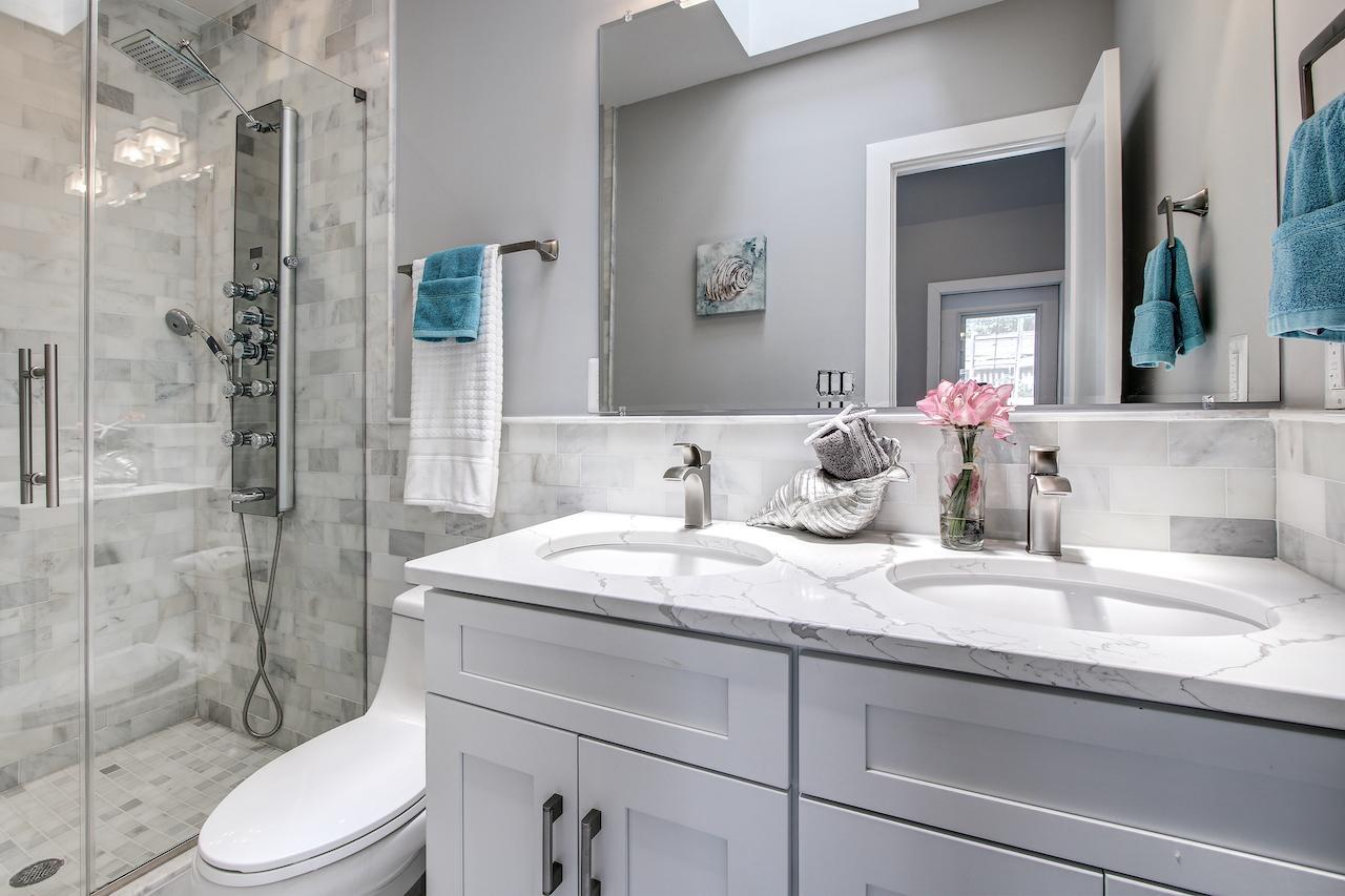 master bathroom remodel vienna