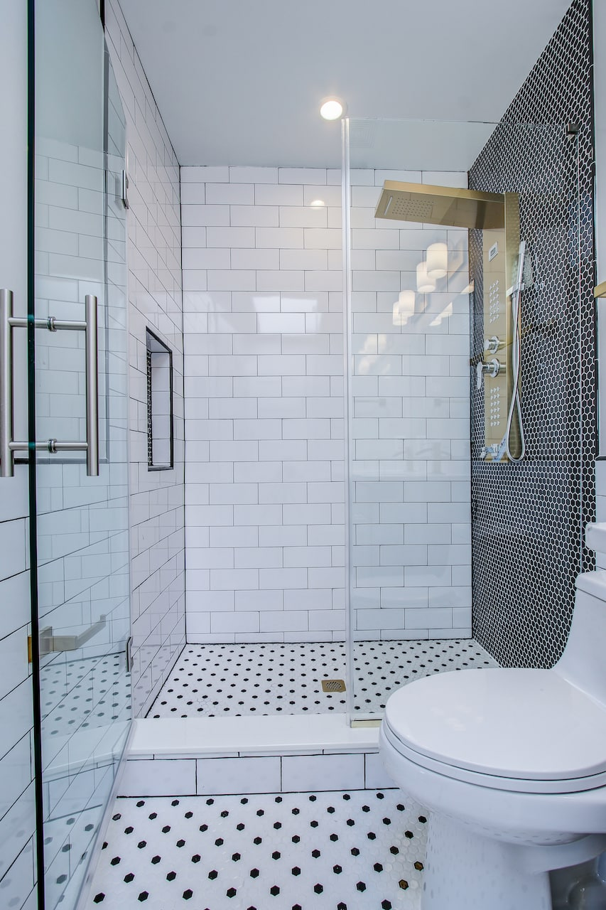 walk in shower fairfax