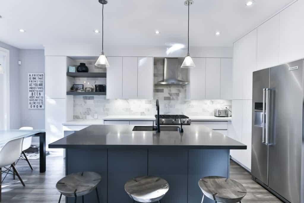 average kitchen island remodel