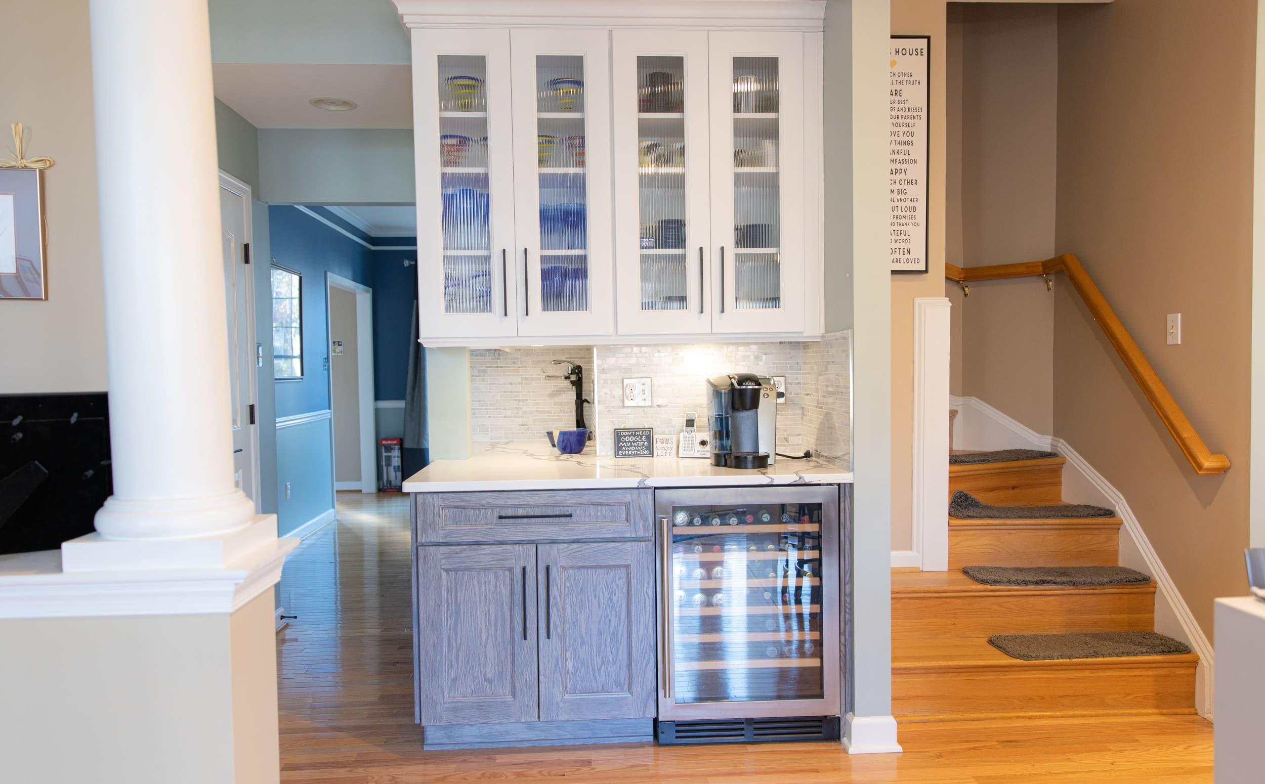 kitchen and bath shop wooden flooring