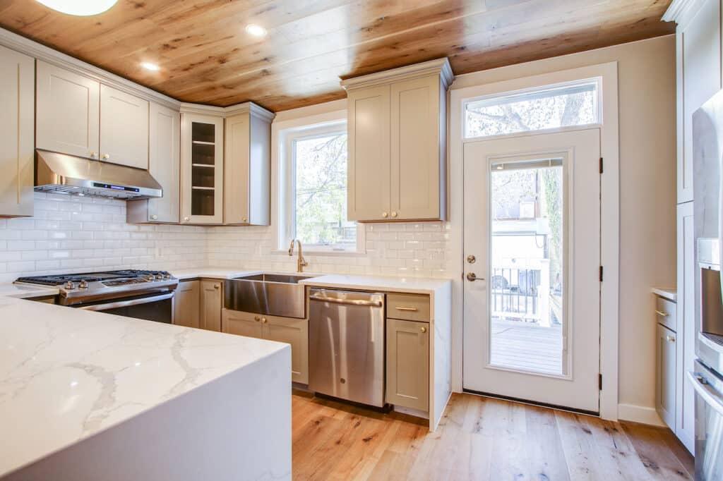 kitchen corner cabinetry