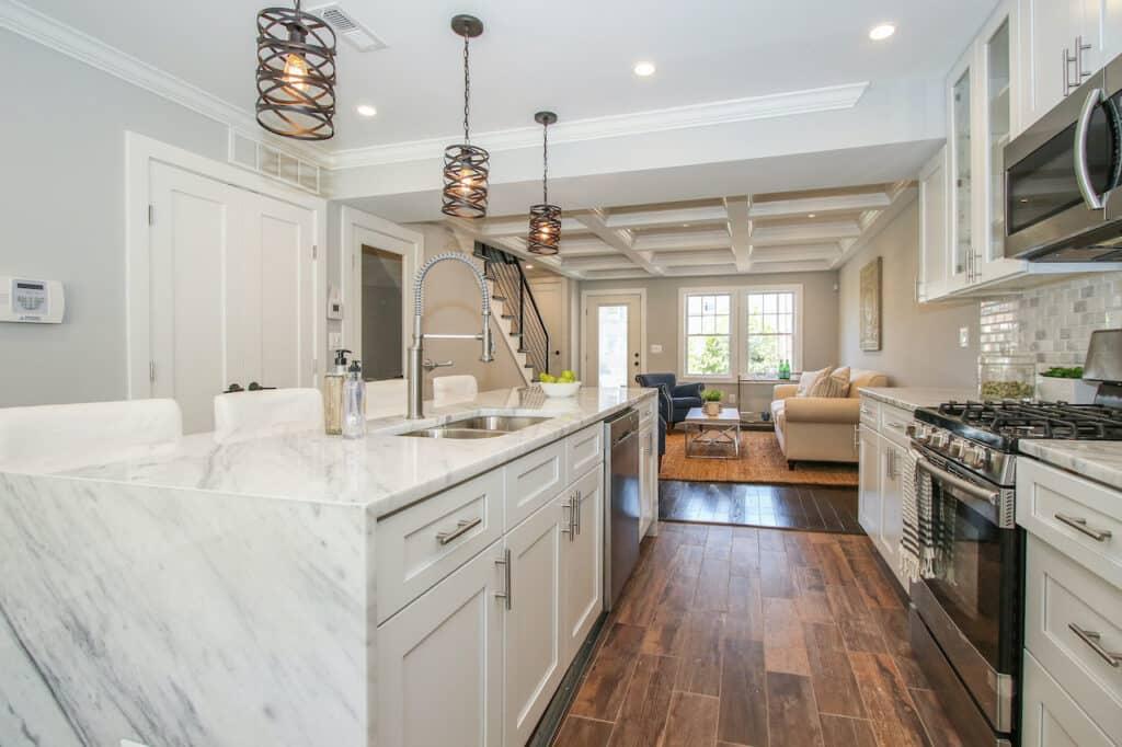 marble kitchen countertop ideas