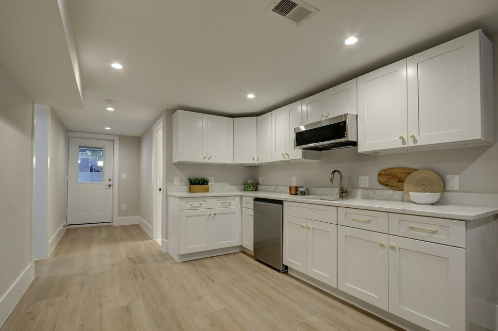 one wall kitchen remodel