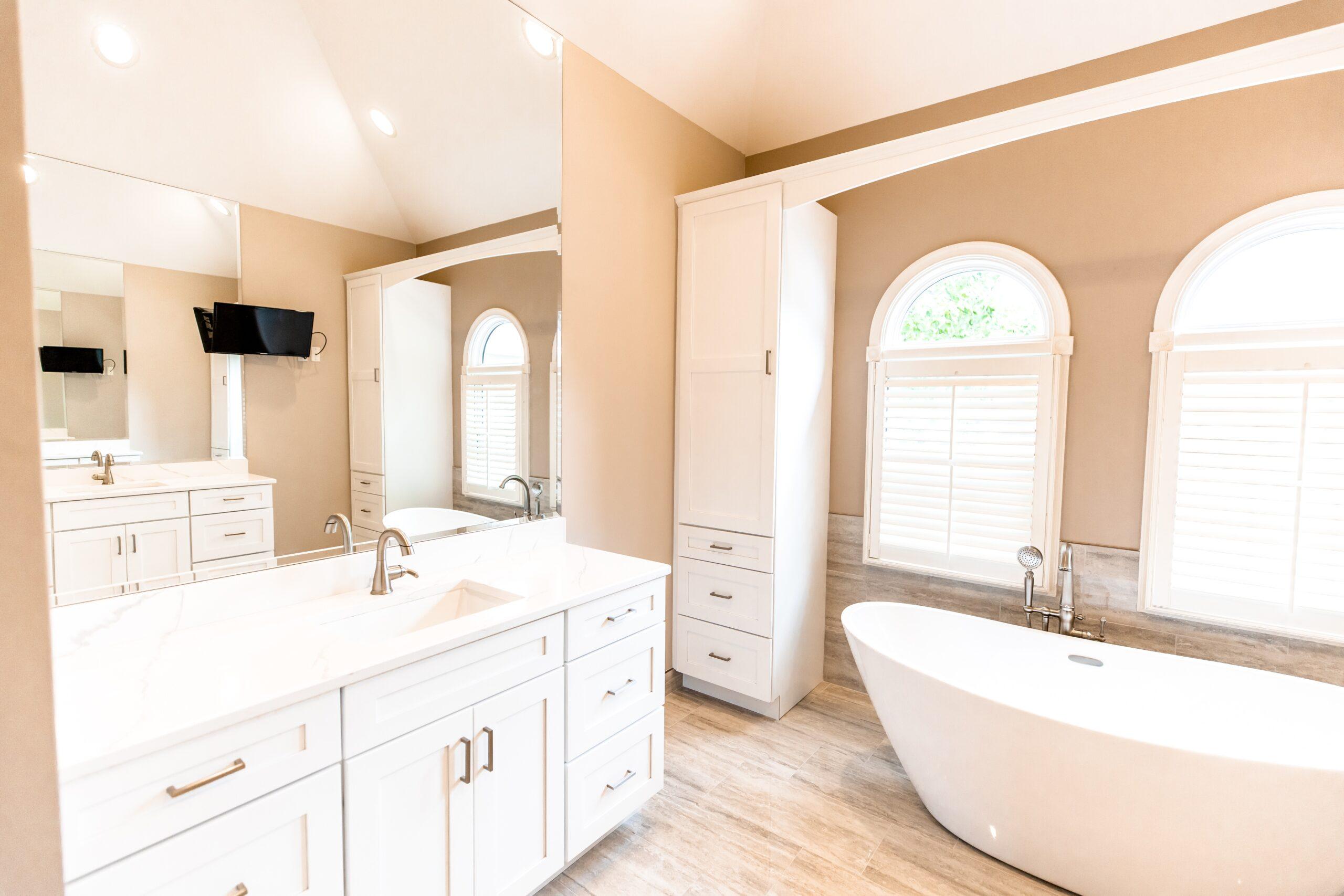 classic bathroom remodeling