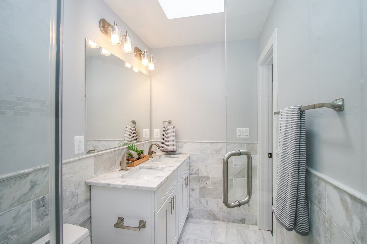 cost of bathroom flooring
