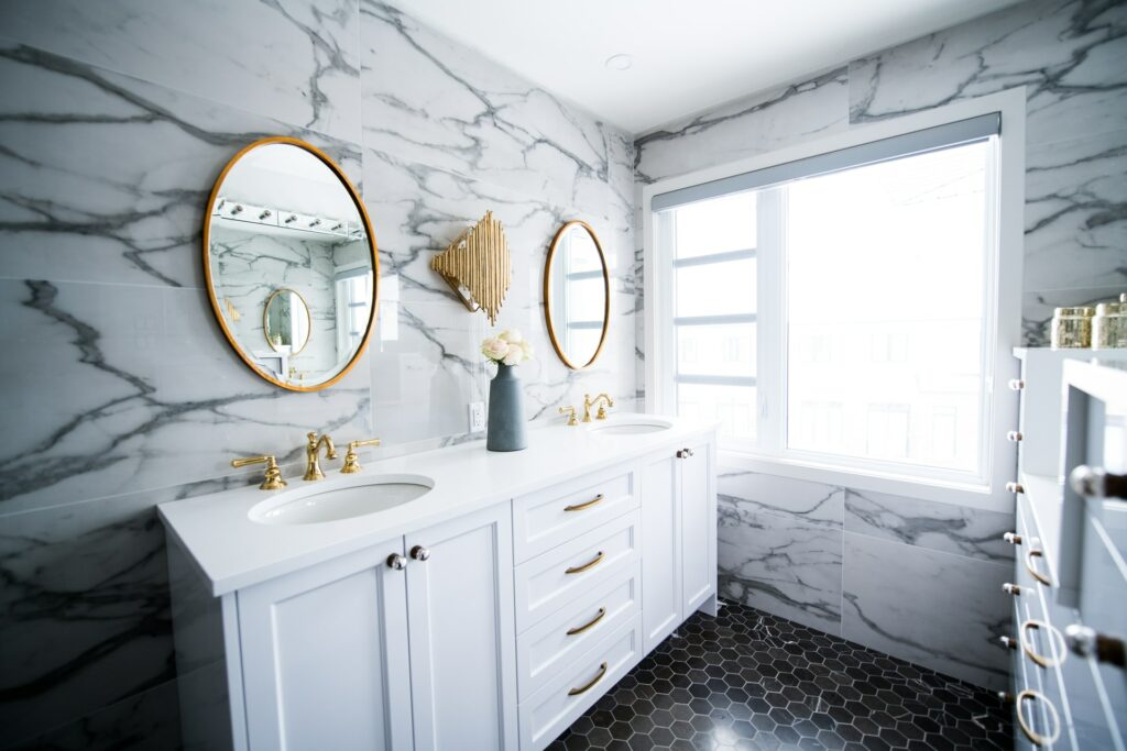 cost of bathroom vanity