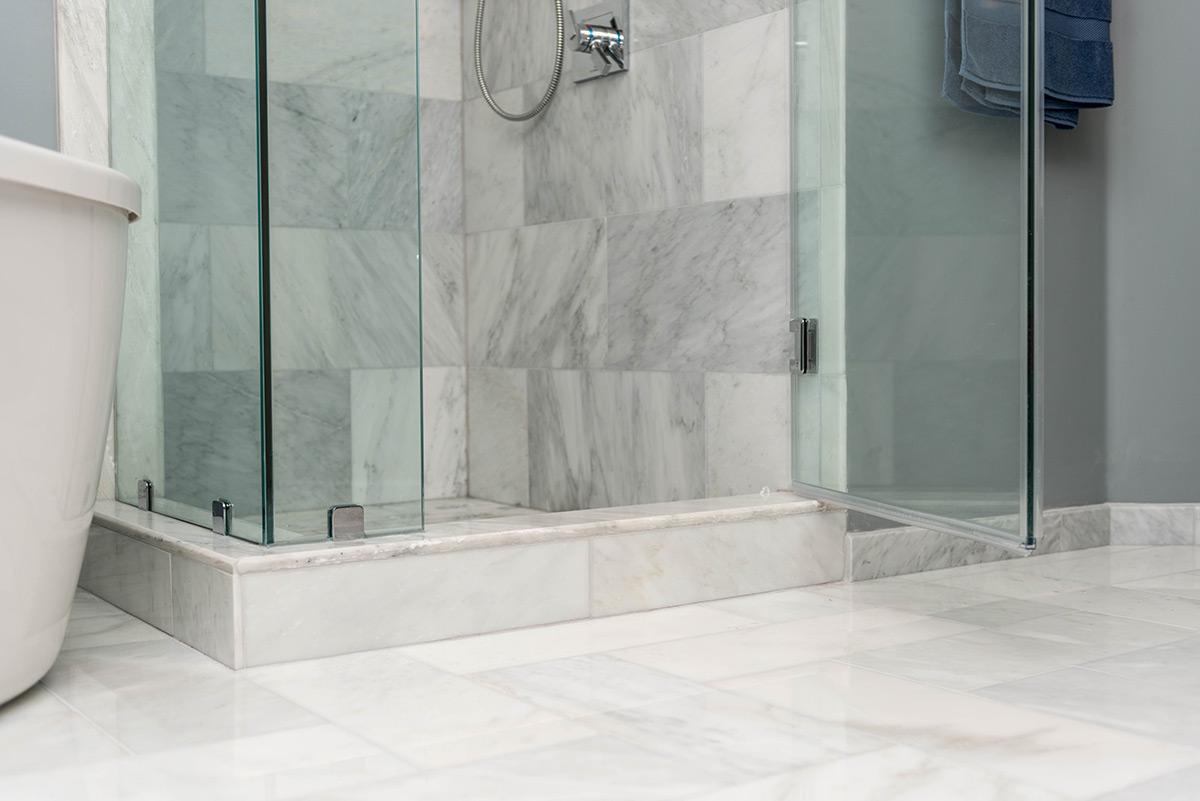 kitchen and bath shop standing shower