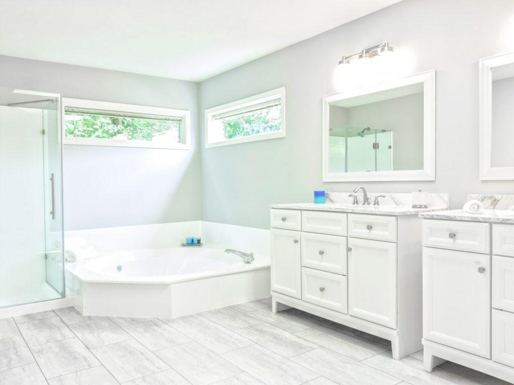 master bathroom remodeling length