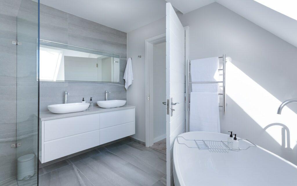 small bathroom remodel length