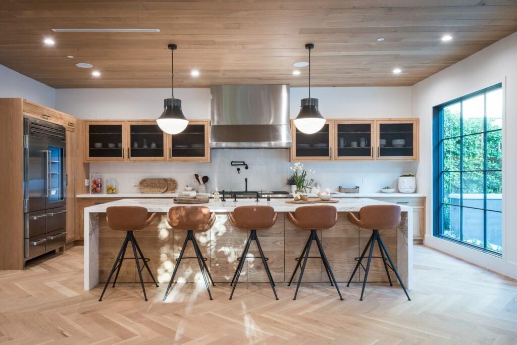 types of kitchen floor