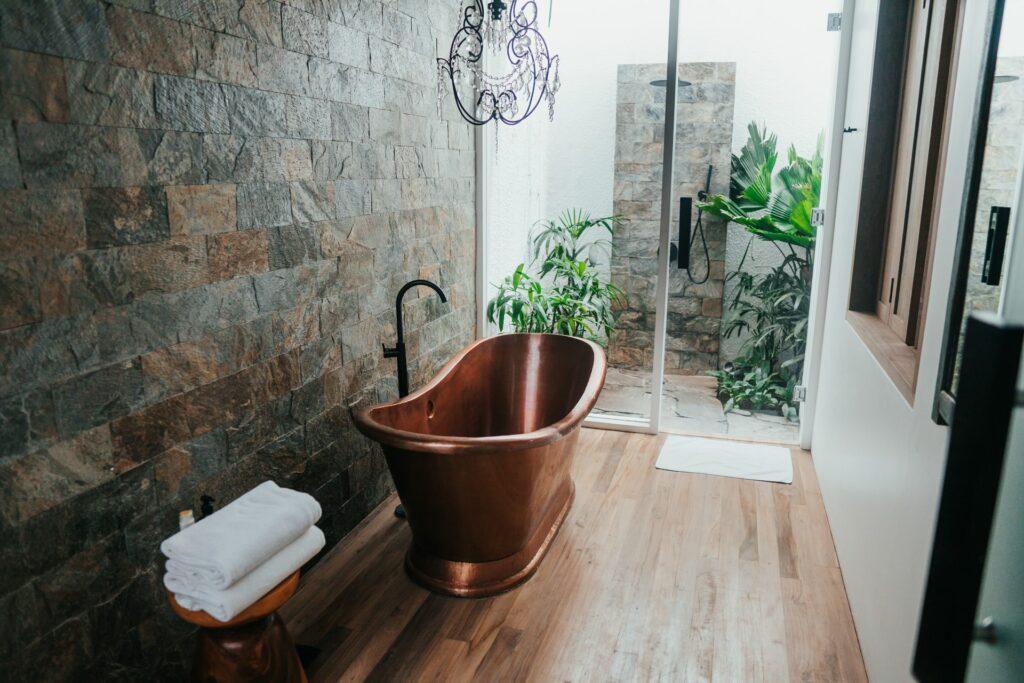 vinyl bathroom flooring cost