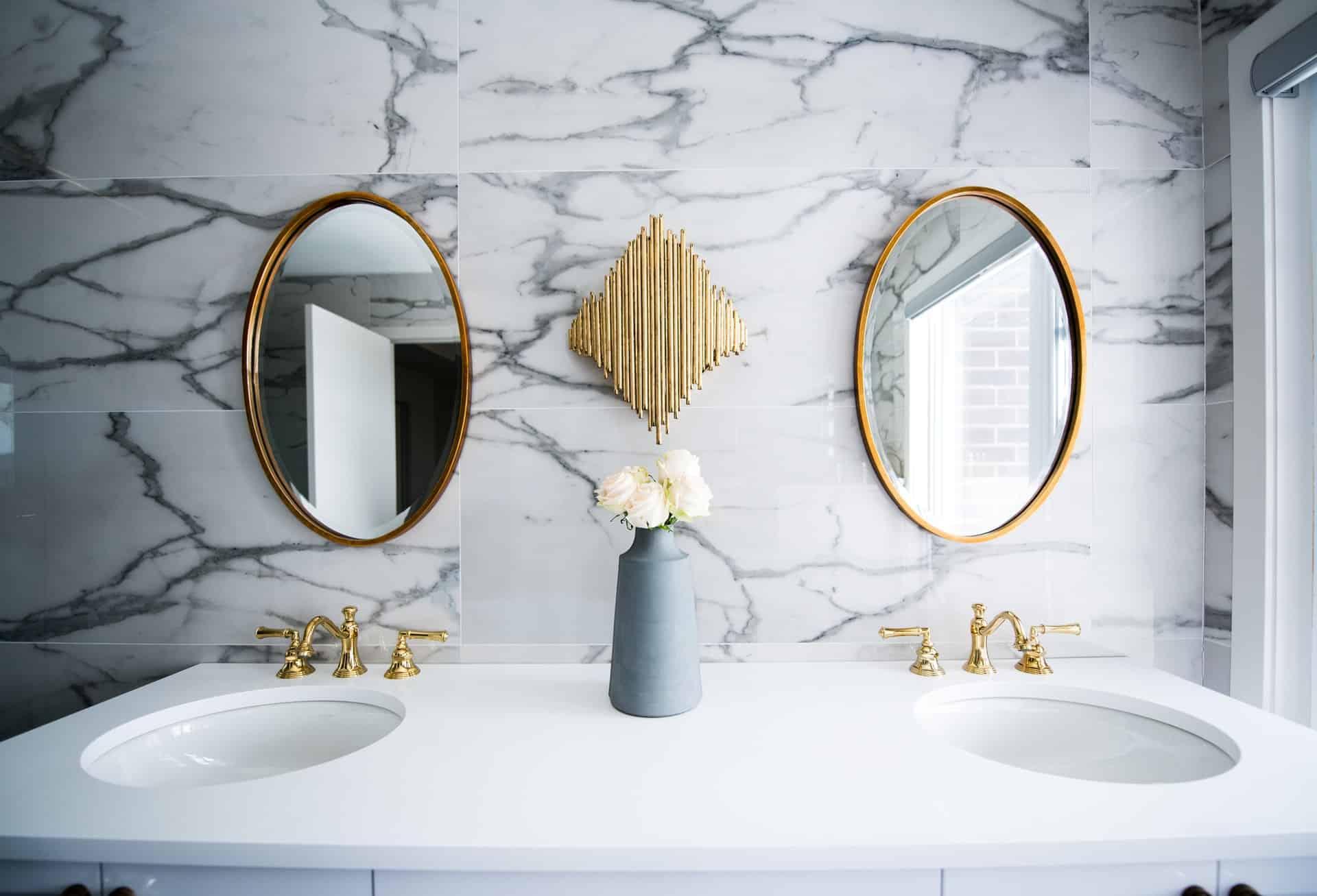 The Cost Of Bathroom Vanities A, New Bathroom Cabinets Cost