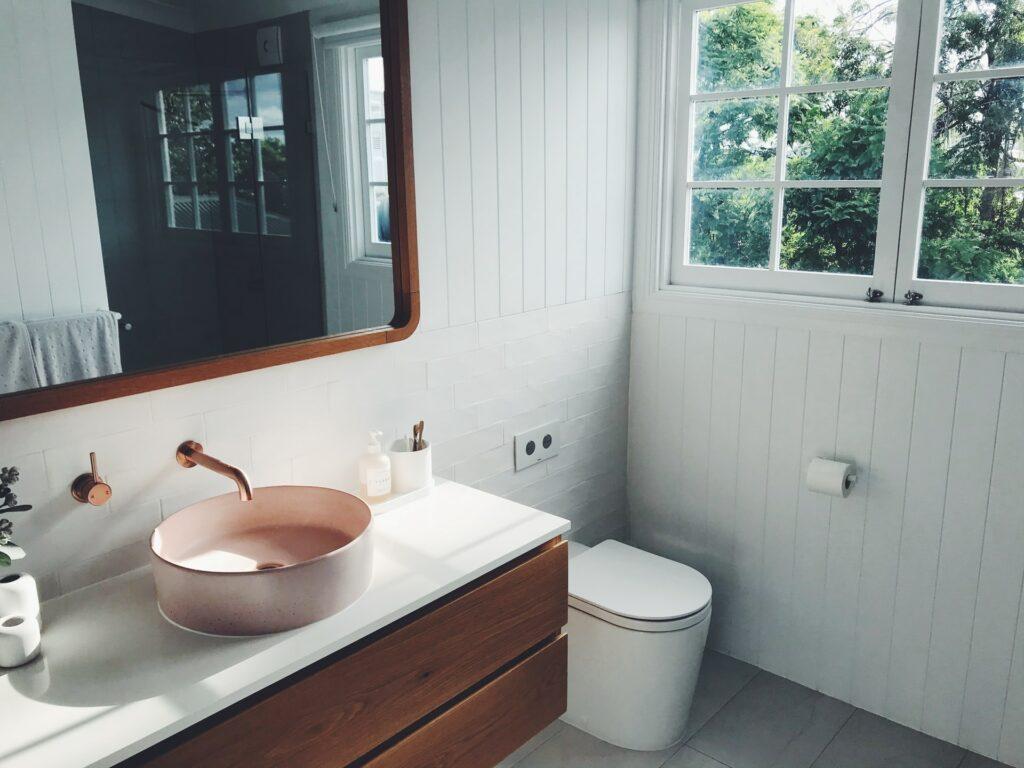 floating bathroom vanity