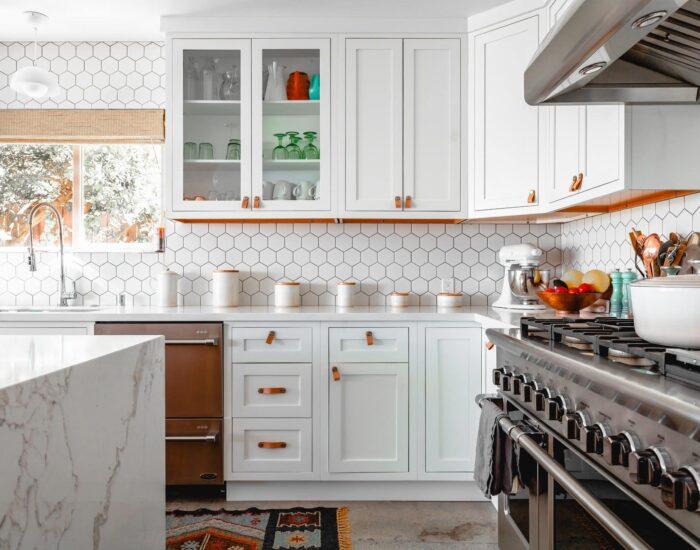 kitchen backsplash pattern