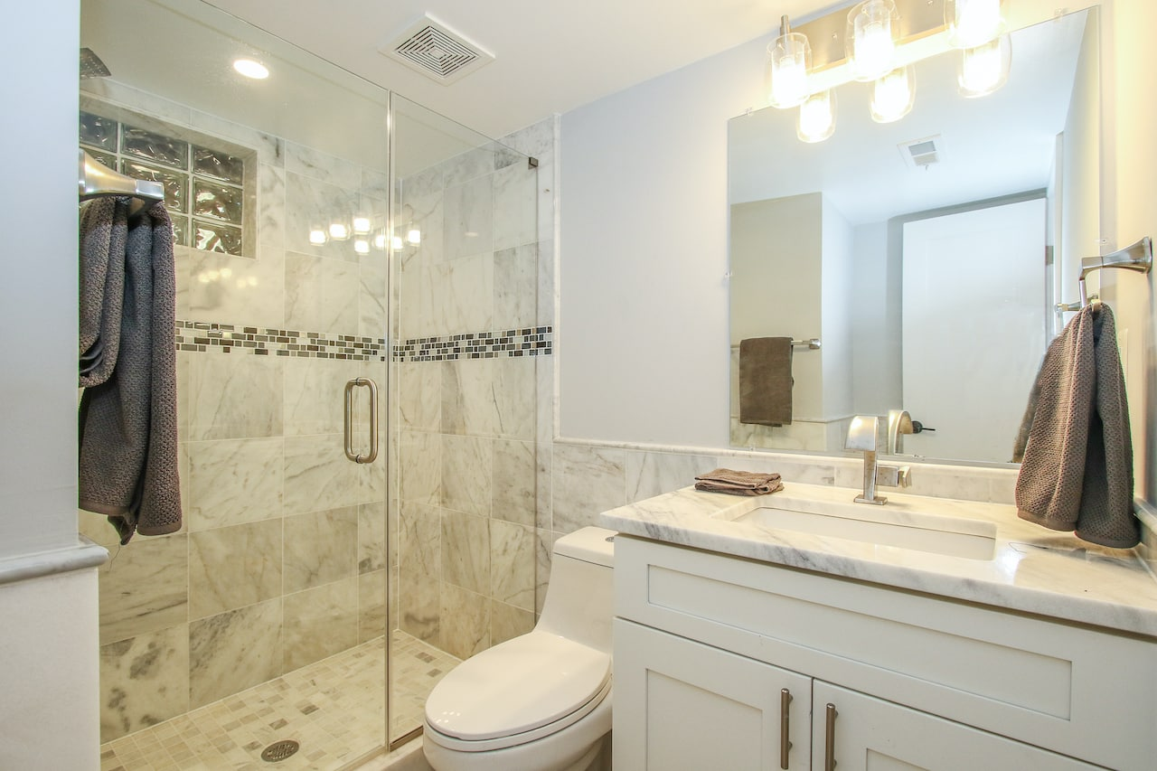 what is the most expensive part of bathroom remodel