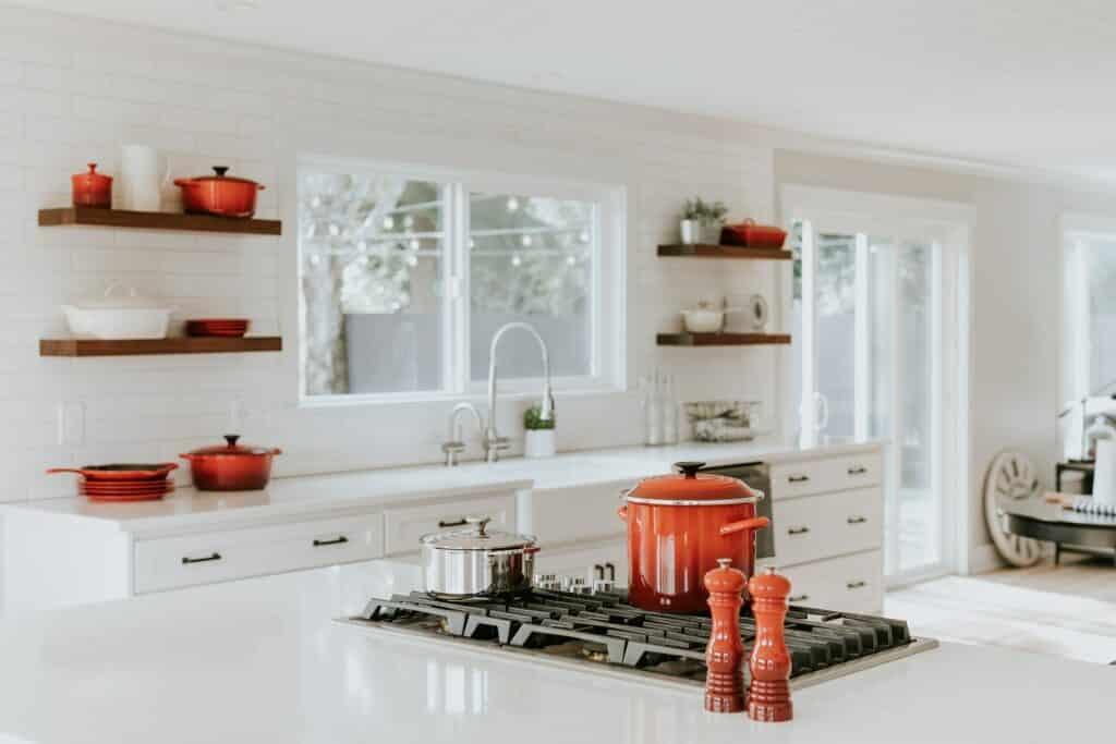 cooktop kitchen island ideas