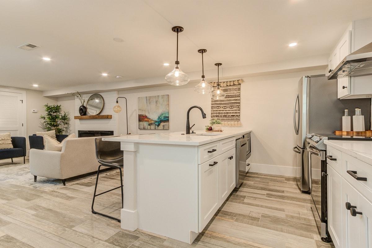 basement kitchen remodeling
