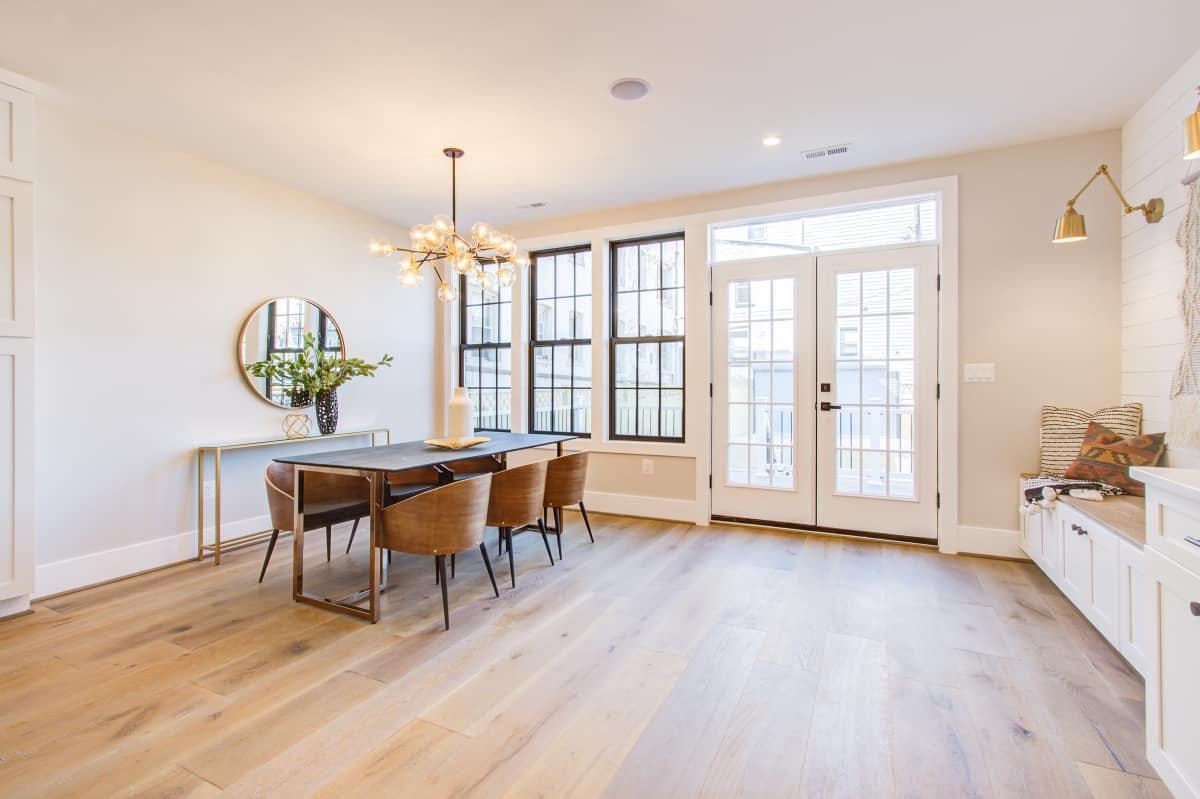 kitchen wooden floors