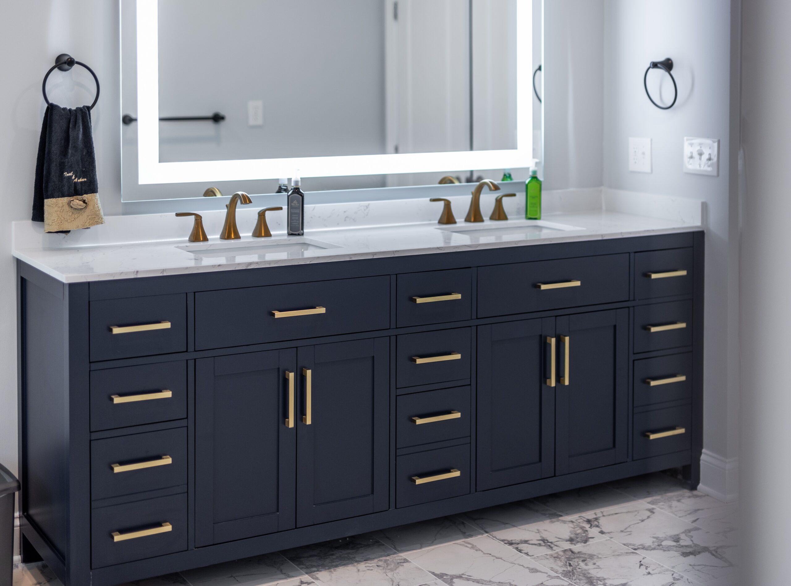 bathroom double vanity designs