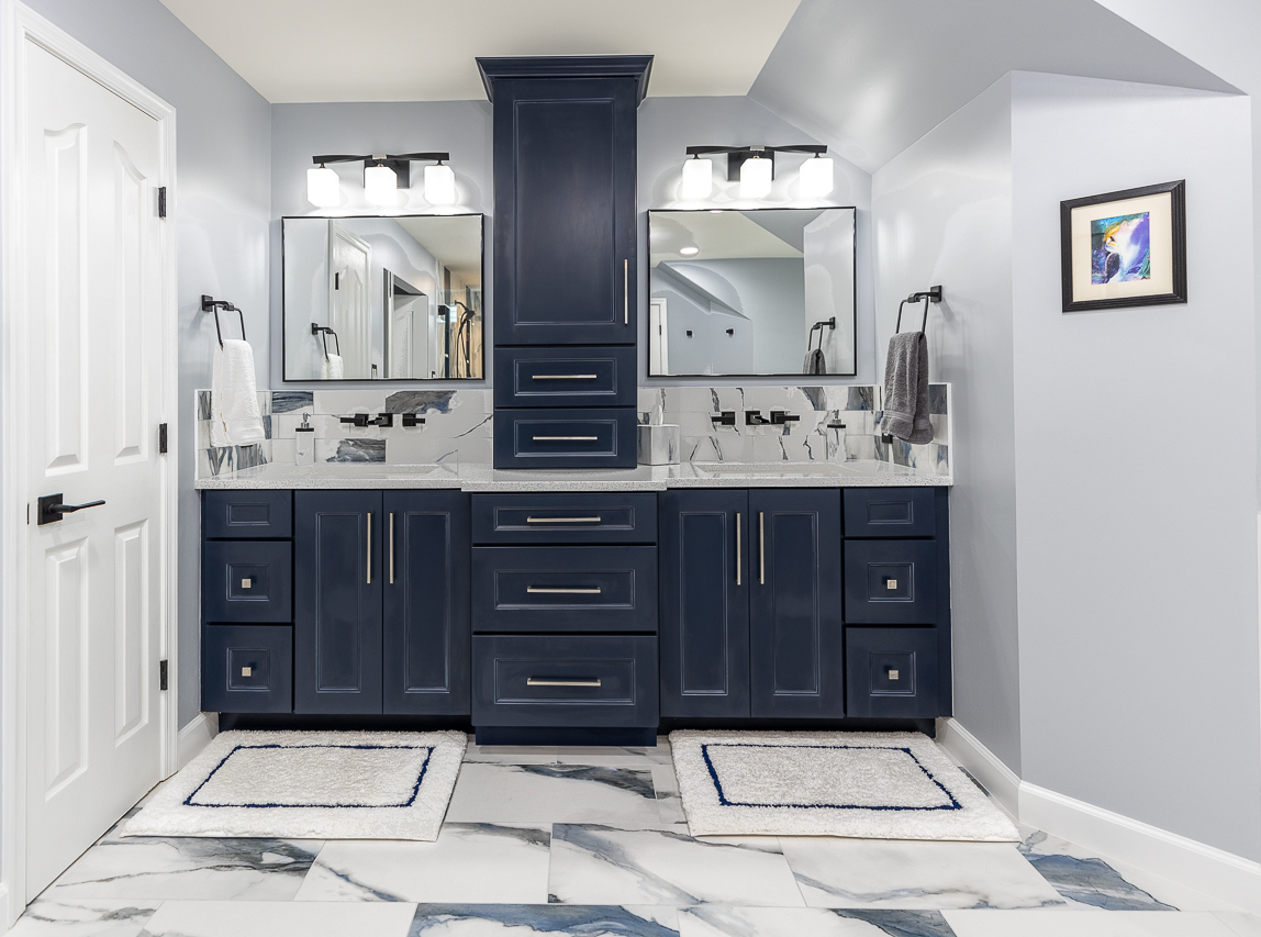 bathroom remodeling project in columbia, MD